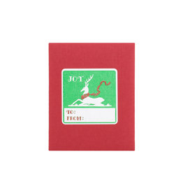 Joy Deer Adhesive Labels