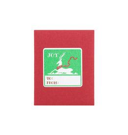 Saturn Press Joy Deer Adhesive Labels