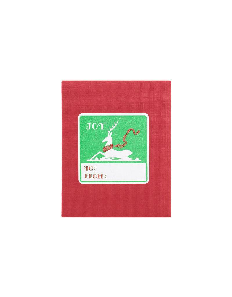 Joy Deer Adhesive Labels