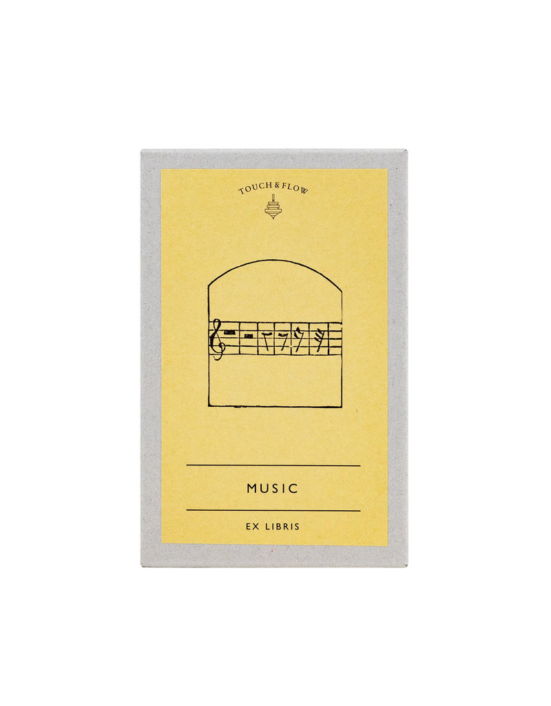 touch & flow music Ex libris bookplates