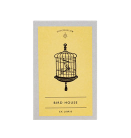 touch & flow birdhouse Ex libris bookplates