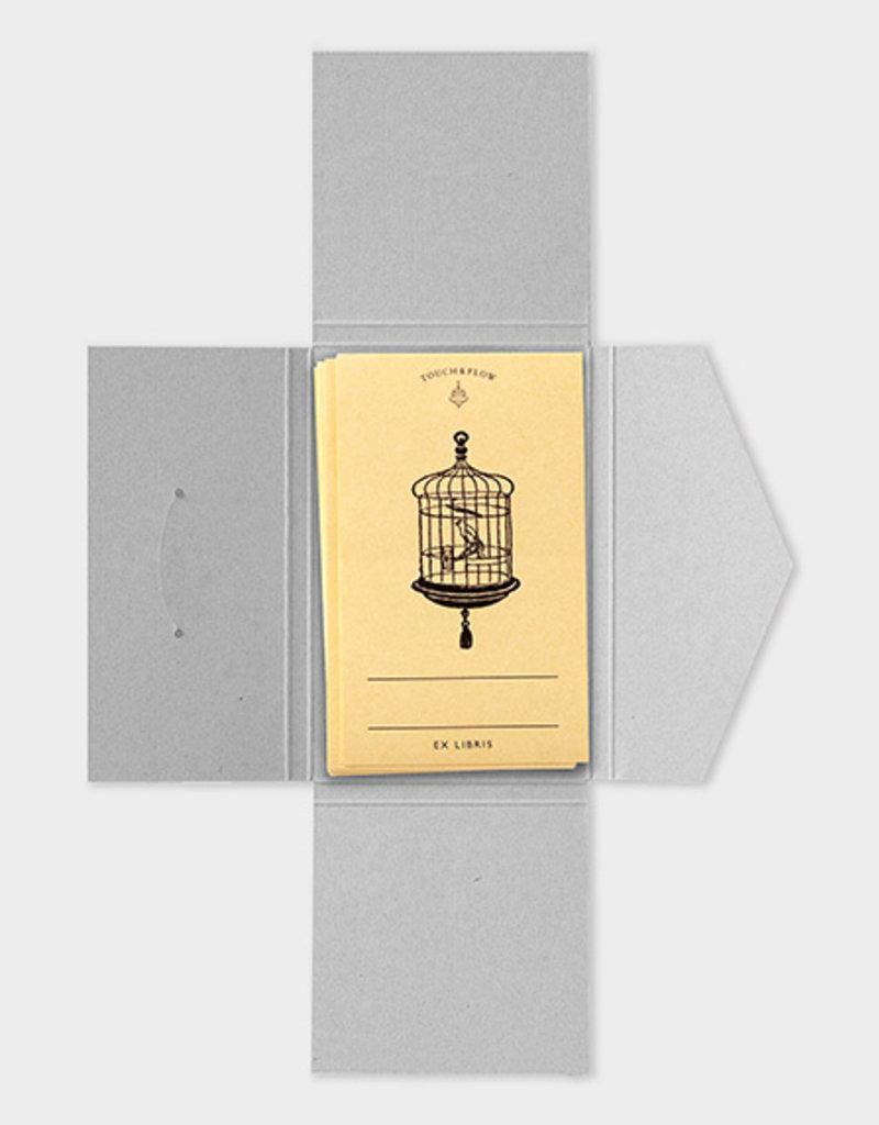 touch & flow birdhouse Ex libris bookplates