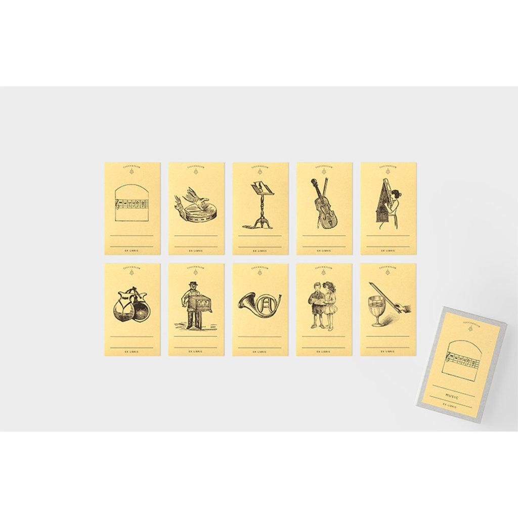 touch & flow music Ex libris bookplates