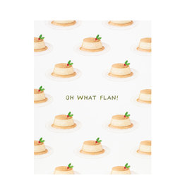 Amy Zhang Oh What Flan Holiday Card