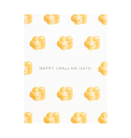 Amy Zhang Challah-Days Hanukkah Card