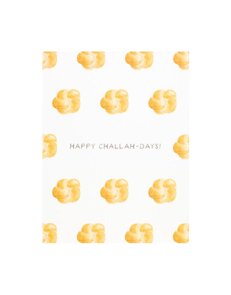 Amy Zhang Challah-Days Hanukkah Card