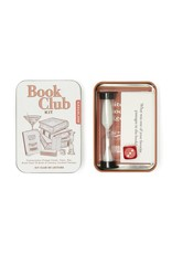 Kikkerland Book Club Kit Tin