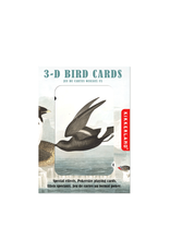 Kikkerland 3-D Birds Playing Cards