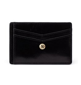 Hobo Simi Credit Card Wallet - Black