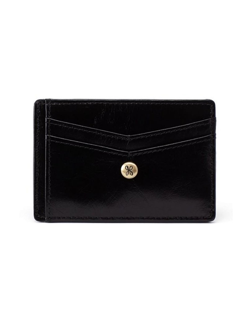 Hobo Simi Credit Card Wallet - Black