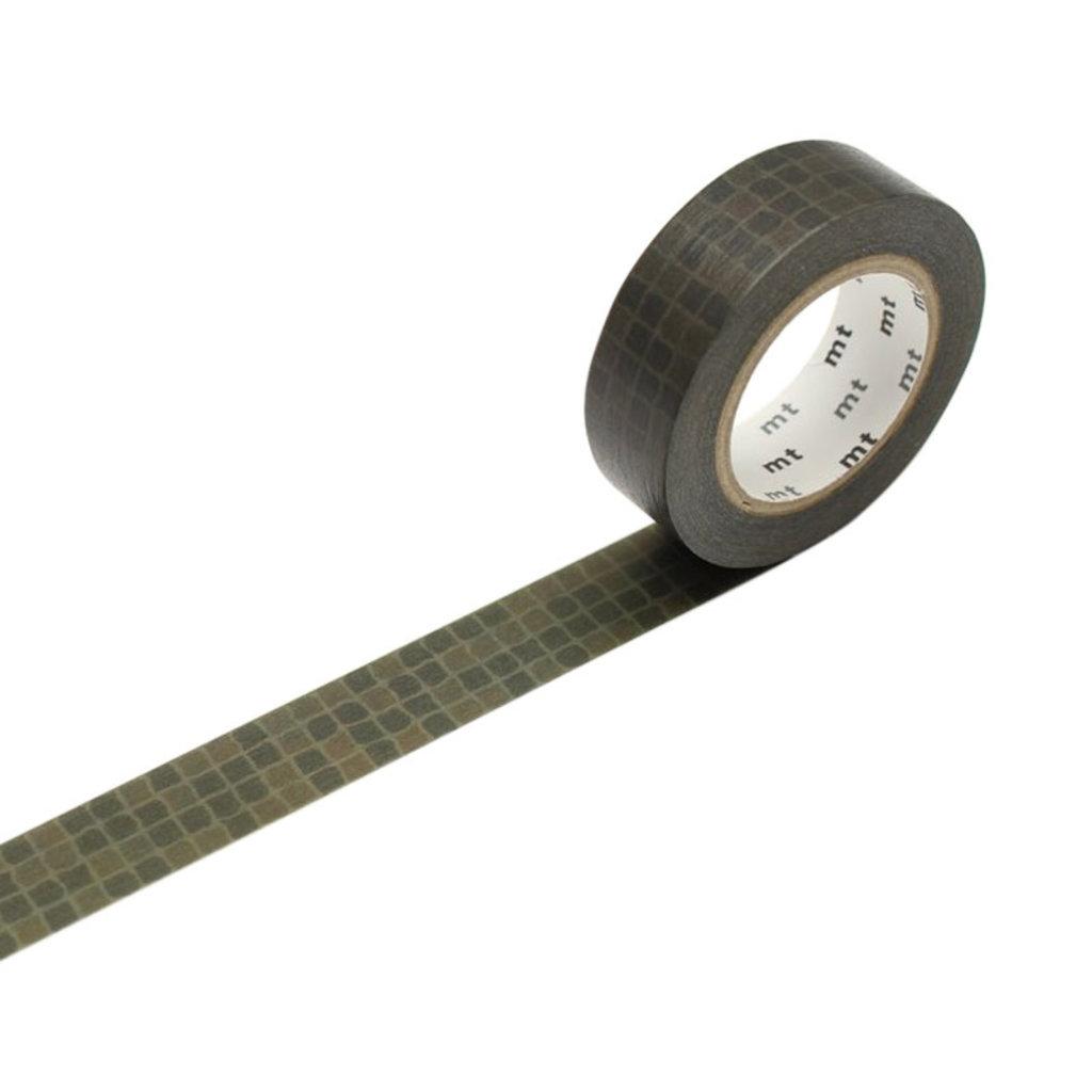 mt Wobble Tile Green Washi Tape
