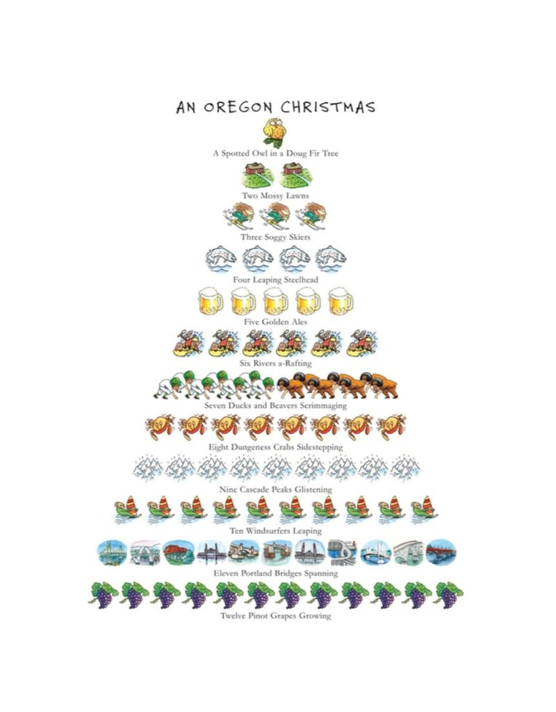 Allport Editions An Oregon Christmas Boxed Notes