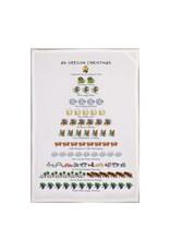 Allport Editions An Oregon Christmas Tea Towel