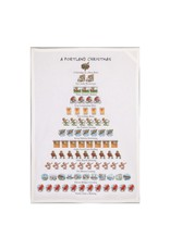 Allport Editions A Portland Christmas Tea Towel