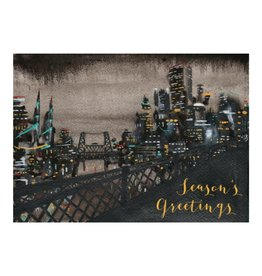 Allport Editions Portland Night Season's Greetings Boxed Notes