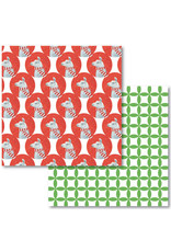 Allport Editions Llama Reversible Wrap Sheet Pack