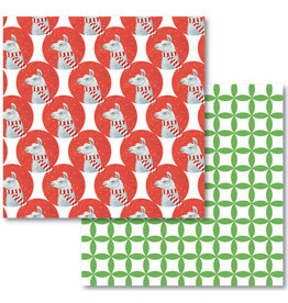 Allport Editions Llama Reversible Wrap Sheet Pack