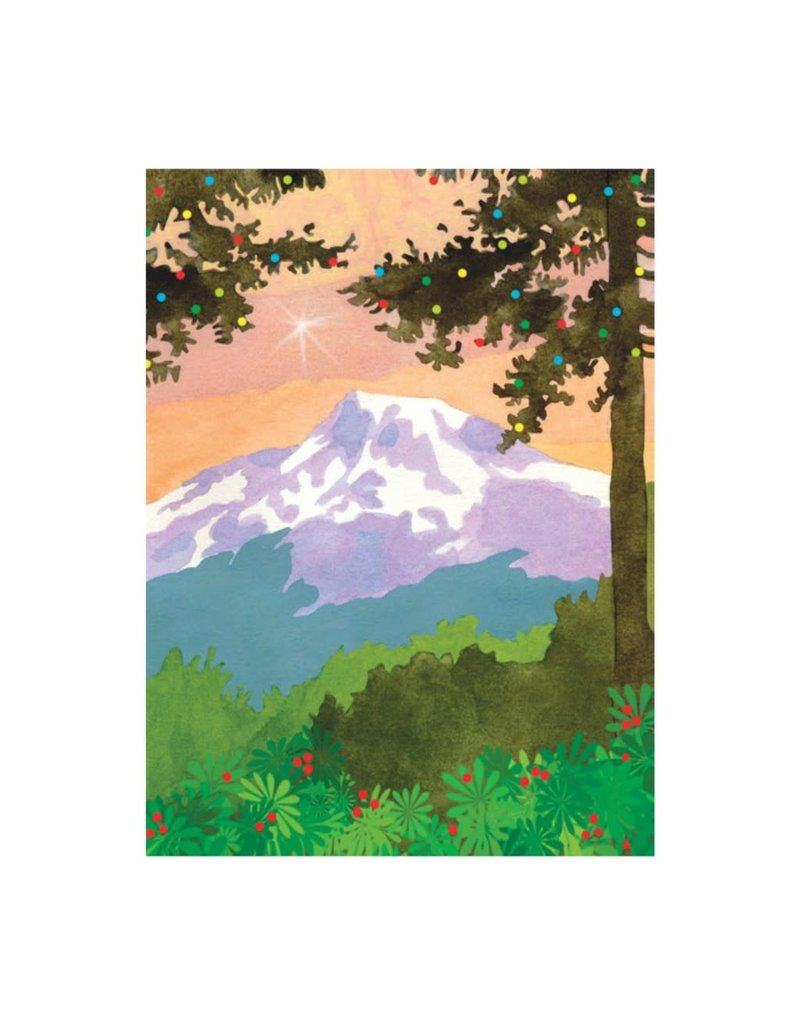 Allport Editions Mountain Greeting Holiday Boxed Notes