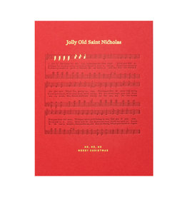Woodsy Foxman Jolly Old Saint Nicholas Sheet Music