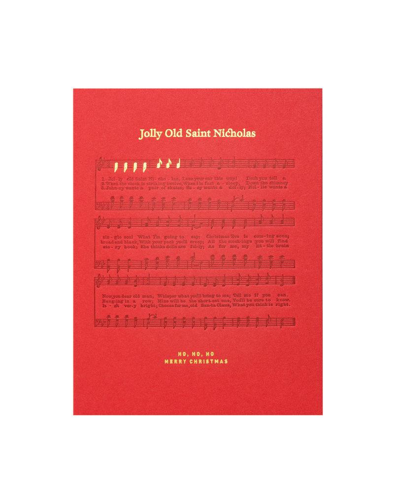 Woodsy Foxman Jolly Old Saint Nicholas Sheet Music