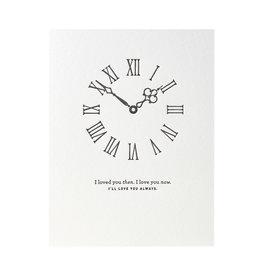 Woodsy Foxman Timeless Love Letterpress Card
