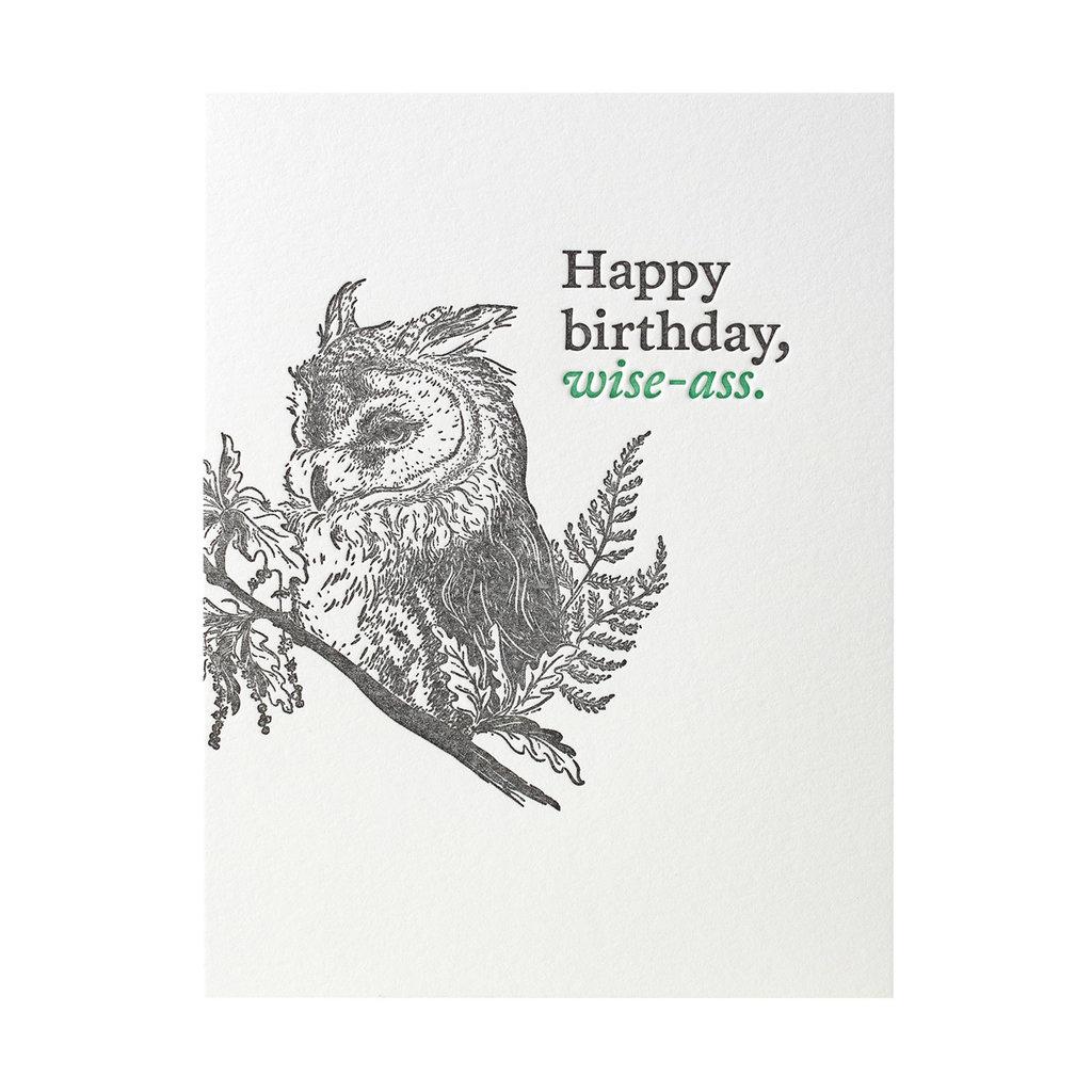 Woodsy Foxman Happy Birthday Wise-Ass