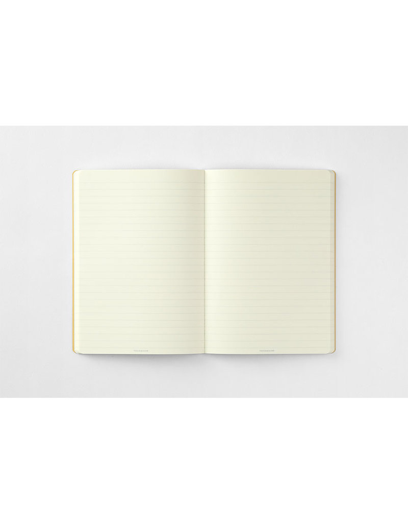touch & flow Phrase Ruled Notebook - red