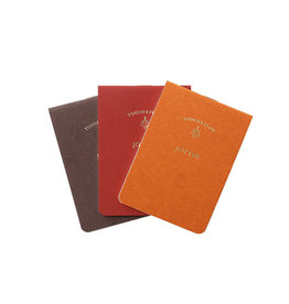touch & flow Memo jotter trio - reds