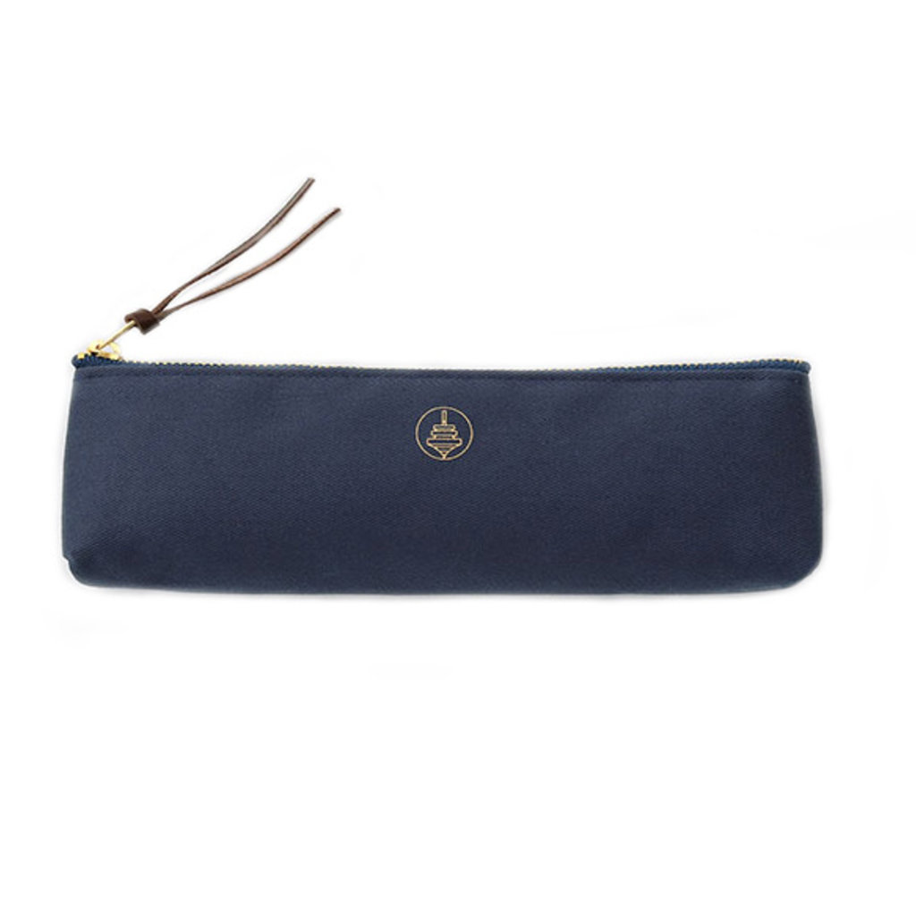 touch & flow Cotton pencil case - blue