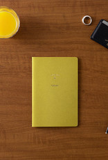 touch & flow 2021 monthly planner - green
