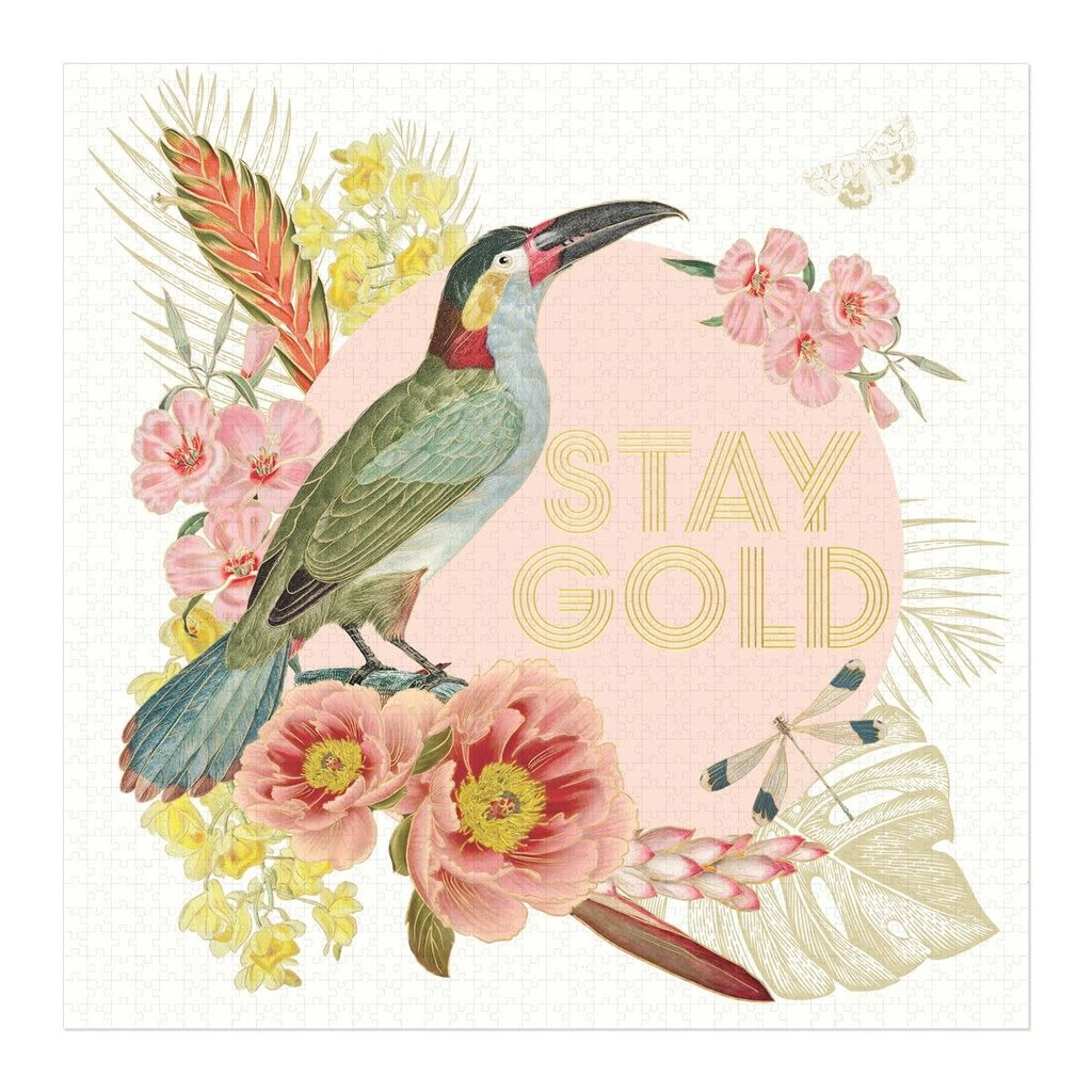 Designworks Toucan Collage Jigsaw Puzzle