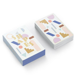 Designworks Multicolor Shapes Playing Cards
