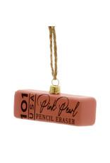Pink Eraser Ornament