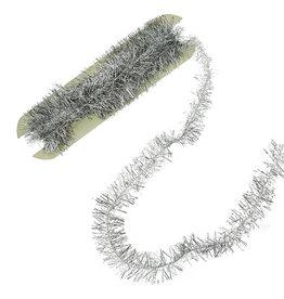 Tinsel Trim - Silver - 20 ft