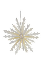 Geometric Paper Snowflake Ornament