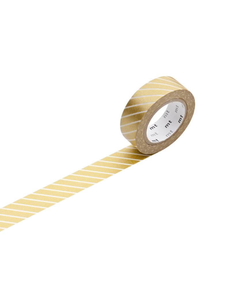 Stripe Gold Washi Tape