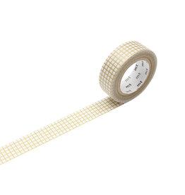 mt Graph Gold Washi Tape