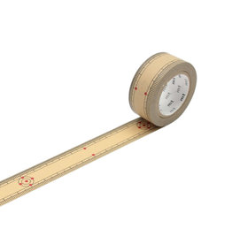 Ruler Bamboo Washi Tape