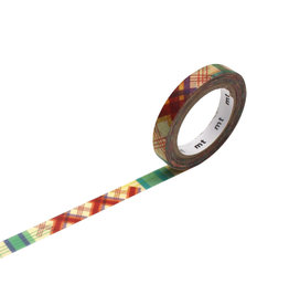 Check Line Washi Tape