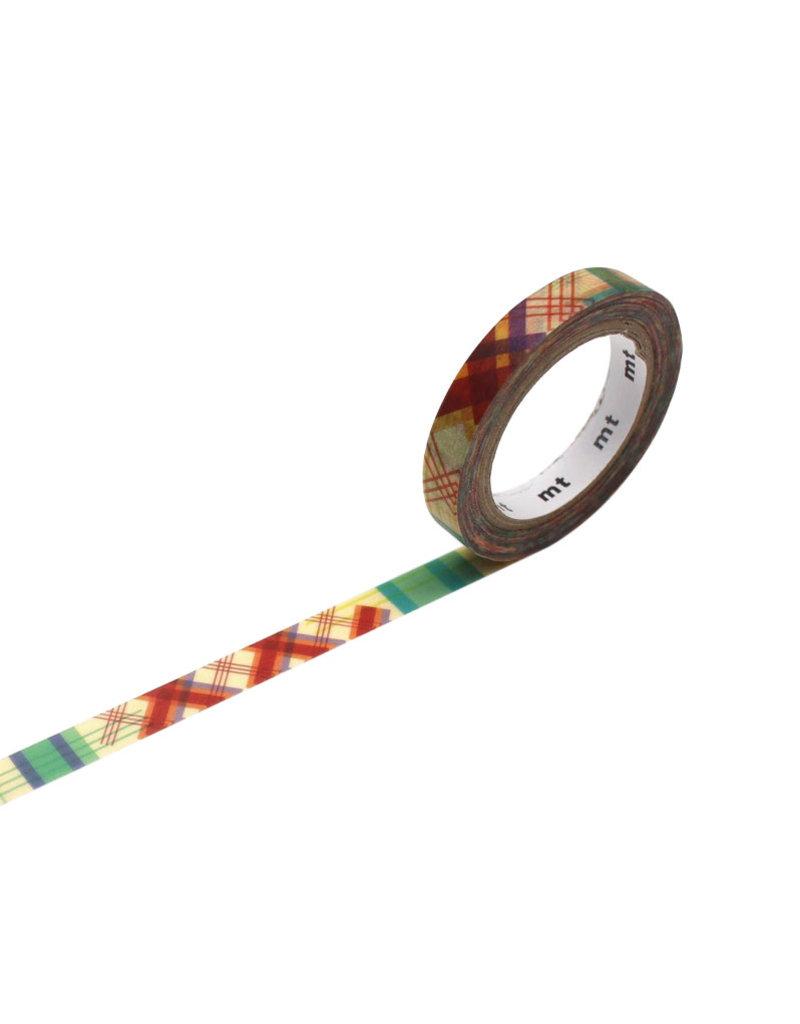 Check Line Washi Tape