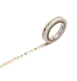 Flower Line Washi Tape