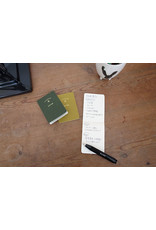 touch & flow Memo jotter trio - greens