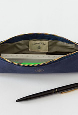 touch & flow Cotton pencil case - blue