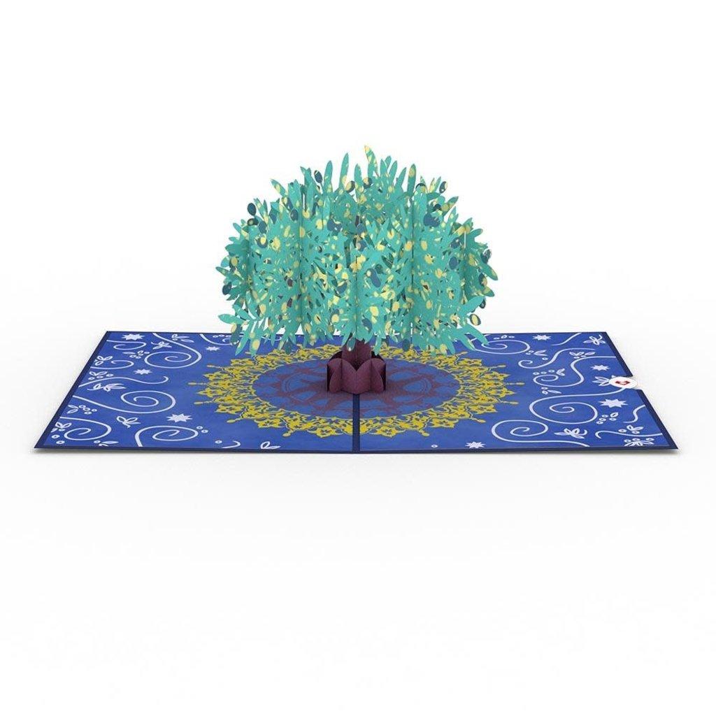 Lovepop Olive Tree Pop-Up Card