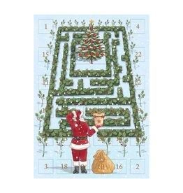 Notes & Queries Advent Calendar Xmas Maze