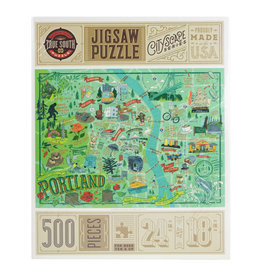 Portland Illustrated Puzzle 500 pc