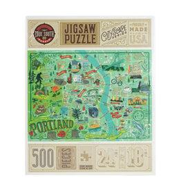 Portland Illustrated Puzzle 500 pc