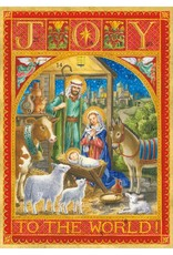 Joy To The World Advent Calendar Card