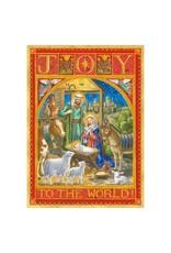 Joy To The World Advent Calendar Card