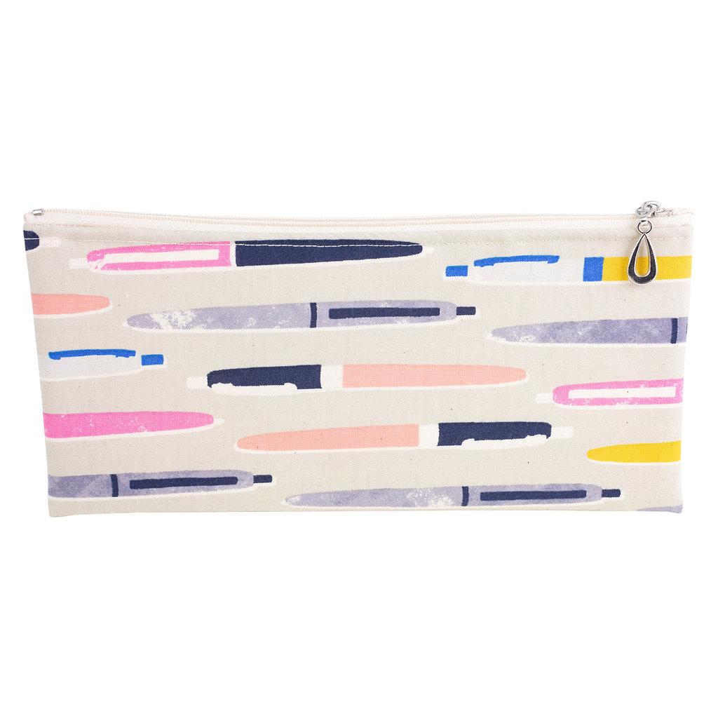 Cotton Pencil Bag - Gray